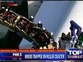 Dráma na horskej dráhe: Vyše 20 ľudí sa zaseklo v ohromnej výške, záchrana trvala hodiny
