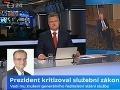 VIDEO Exminister vyletel na moderátora v priamom prenose: Toto si vyprosím, pán redaktor!