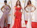 Top krásky Hollywoodu v úchvatných róbach na Emmy: Ktorá z nich bola NAJ?