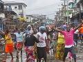 Úrady v Libérii zrušili karanténu v najväčšom slume Monrovie