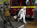 Výbuch bomby na stanici metra v Čile zranil najmenej osem ľudí