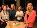 K Lucii Forman Habancovej a Diane Hágerovej sa počas večera pridala aj moderátorka jojkárskeho Top Staru Stanislava Pavolová.