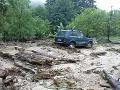 Búrky i povodne sa na Slovensku vyzúrili: Škody za milión eur