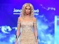 Aj markizáčka Diana Hágerová sa počas druhého dňa Bratislavských módnych dní prešla po móle.