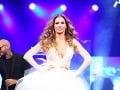 Andrea Verešová patrila k najväčším hviezdam celej módnej šou.