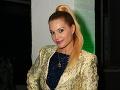 Módnu šou si prišla vychutnať aj speváčka Marcella Molnárová.