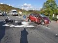 Pri Krupine sa stala dopravná nehoda, zranili sa dvaja ľudia