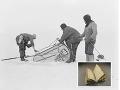 V roztopenom ľade našli po sto rokoch denník dobyvateľa južného pólu!