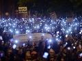 Ultimátum na odvolanie dane za internet dnes vyprší, demonštrácie pokračujú