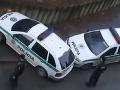 VIDEO, ktoré musíte vidieť: Takto geniálne zaparkovali policajti v Bystrici!