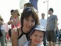 Tobiasko s mamičkou