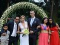 Petra Lenártová a Marián Mokoš mali na svadbe hostí z Európy aj domácich z Indie.