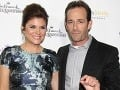 Tiffani Thiessen a Luke Perry