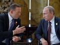 Putin a Abbott chcú urýchlenie vyšetrovania pádu lietadla