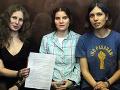 Konštatovanie Štrasburgu Moskvu nepoteší: Členkám Pussy Riot upreli ich práva