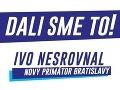 Ivo Nesrovnal ohlásil svoje víťazstvo vo voľbách