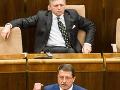 Fico ohlásil debakel pravice
