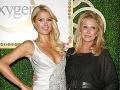 Paris Hilton s mamou.