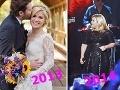 Kelly Clarkson v priebehu roka výrazne pribrala. Svoj podiel má na tom tehotenstvo.