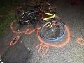 Tragédia na Troch kráľov, po náraze auta do bicykla zahynul cyklista (†58)