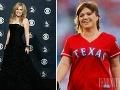 Kelly Clarkson v minulosti vyzerala skvelo, odvtedy pribrala niekoľko kilogramov