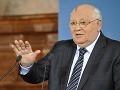 Gorbačov varuje: Stojíme na sklonku veľkej vojny, zrejme jadrovej