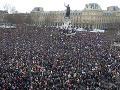 Paríž bolo dnes hlavné mesto sveta: Proti terorizmu pochodovalo 1,5 milióna ľudí