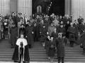 Churchillovho pohrebu sa zúčastnili štyria králi, dve kráľovné a množstvo prezidentov