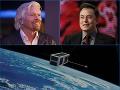 Súboj titanov: Za miliardy budujú globálnu sieť, kto stihne pripojiť celý svet z vesmíru ako prvý?