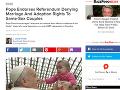 Pápežove slová si teraz zahraničné médiá spájajú s februárovým referendom