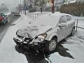 Nehoda na Račianskej ulici v Bratislave