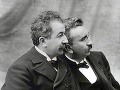 Louis (napravo) a Auguste