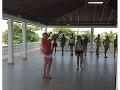 Zuzana Mello Marošová vedie v Belize trikrát do týždňa hodiny tanca.