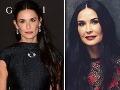 Slávna herečka sa hnusí fanúšikom: Demi, veď vyzeráš ako vyplastikovaná Morticia!