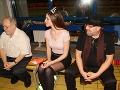 Laura Longauerová sa na bratislavských Pasienkoch objavila v kratučkej minisukni.