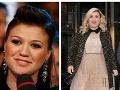 Kelly Clarkson sa vypásla do obrích rozmerov