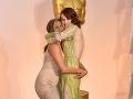 Jennifer Aniston a Emma Stone sa takto vrúcne zvítali.