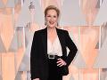 Meryl Streep mala veľmi dobrú náladu.