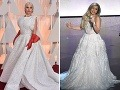 Lady Gaga pútala na červenom koberci pozornosť zvláštnymi rukavicami. Na pódiu bola neskôr za dokonalú dámu.