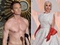 O prekvapenia počas slávnostného večera sa postarali  aj herec Neil Patrick Harris a speváčka Lady Gaga.