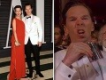 Benedict Cumberbatch počas galavečera popíjal.