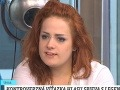 Lenka Lo Hrůzová za osem mesiacov viditeľne pribrala.