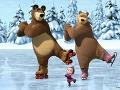 Máša a medveď na ľade