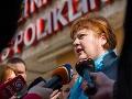 Monika Kavecká z Odborového združenia sestier a pôrodných asistentiek