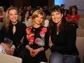 V hľadisku boli aj tváre RTVS Andrea Chabroňová, Soňa Müllerová a Karin Majtánová.