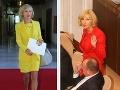 FOTO modelky Zmajkovičovej: V parlamente ako na móle, doobeda v jednom, poobede v druhom!