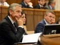 Spor v parlamente pokračuje: Figeľa už odvolávať nebudeme, vráťme sa k reštrukturalizácii!