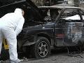 Prahou otriasla explózia bomby nastraženej v aute: Obeť stále v umelom spánku!