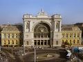 Vlaková stanica Keleti, Budapešť, Maďarsko