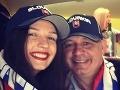 Prezident Kiska sa odviazal: S krásnou dcérou fandil našim, selfie z VIP salóniku!